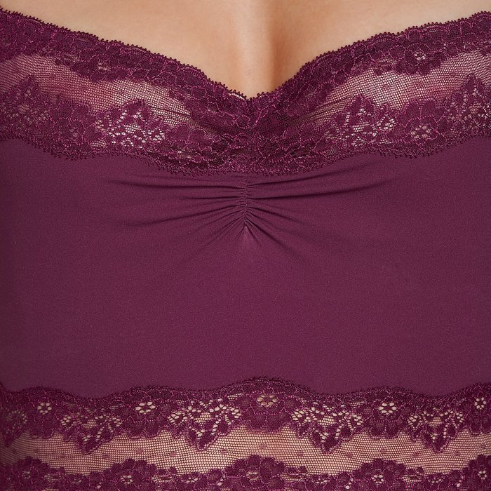 Andres Sarda Verbier Top (Deep Cherry) detail 4.1