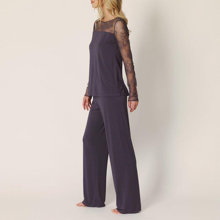 Marie Jo Agatha Pyjama (Frost Grey) detail 2.1