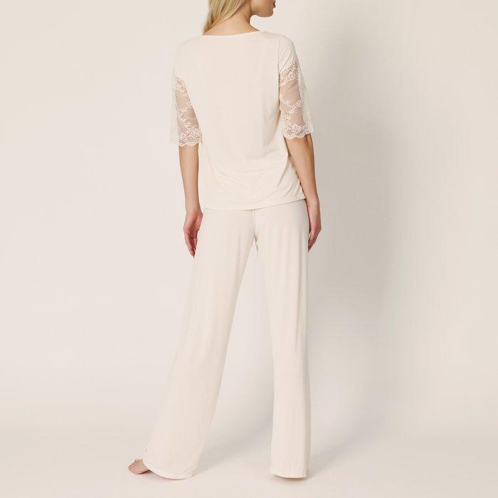 Marie Jo Bella Pyjama (Pearled Ivory) detail 3.1