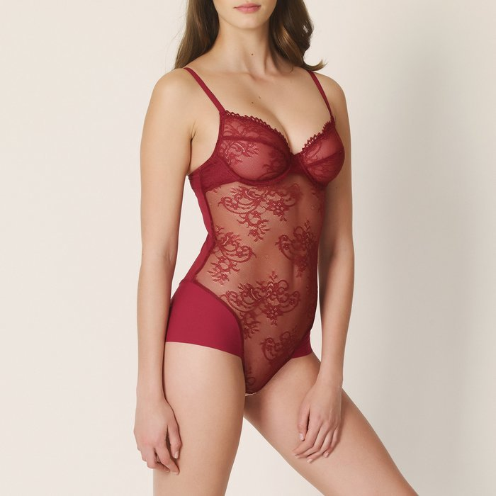 Marie Jo Agatha Body (Rumba Red) detail 1.1