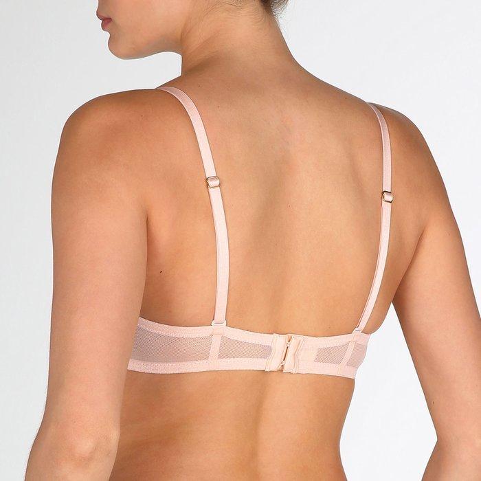 Marie Jo Undertones Bustier (Glossy Pink) detail 4.3