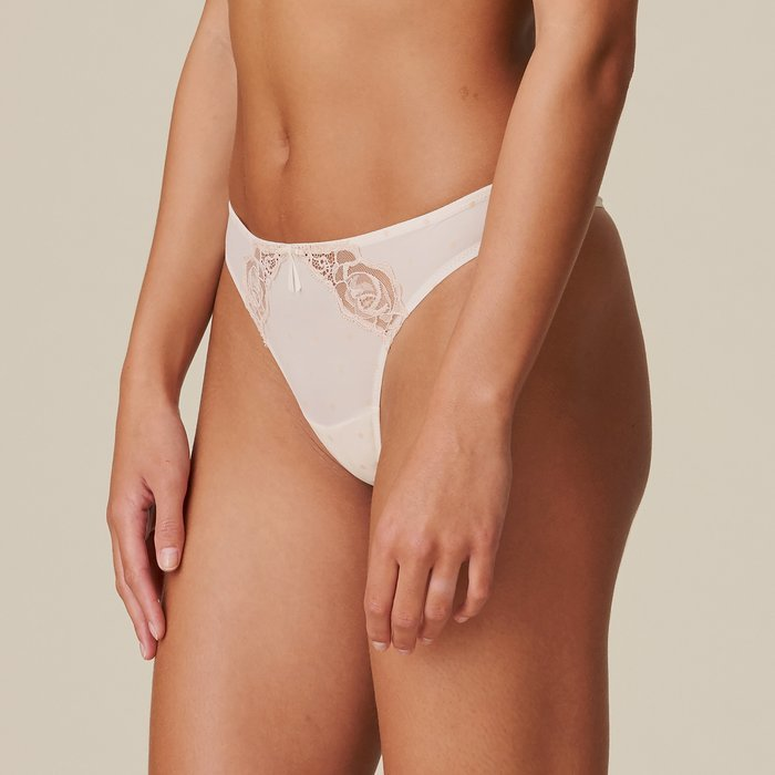 Marie Jo Axelle String (Pearled Ivory)