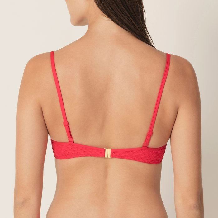Marie Jo Swim Brigitte Bikini Top (True Red)