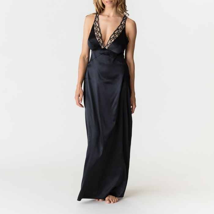 PrimaDonna Soie belle Nachtkleed (Zwart) detail 1.1