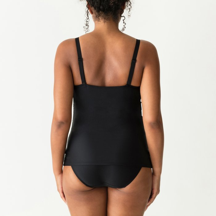 PrimaDonna Swim Cocktail Tankini Top (Zwart) detail 4.1