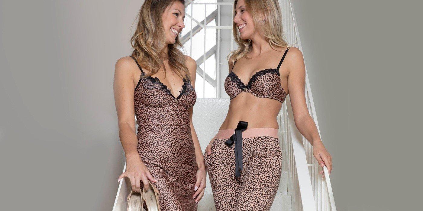 Cosy times met knusse homewear en matchende lingerie
