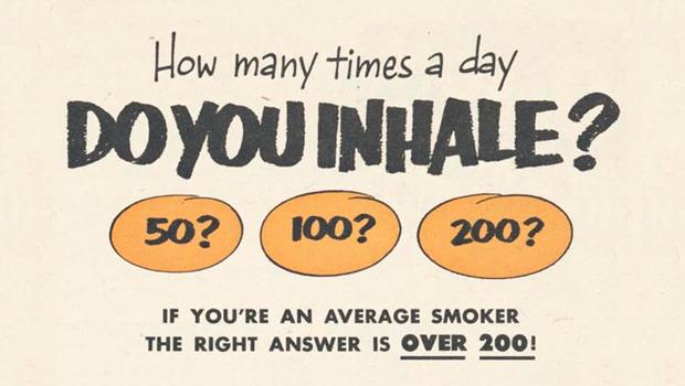 Mindre än 200 bloss om dagen? Då är du inte en riktig rökare – 13 annonser och produkter från 30-talet som garanterat INTE hade funkat eller accepterats i dag