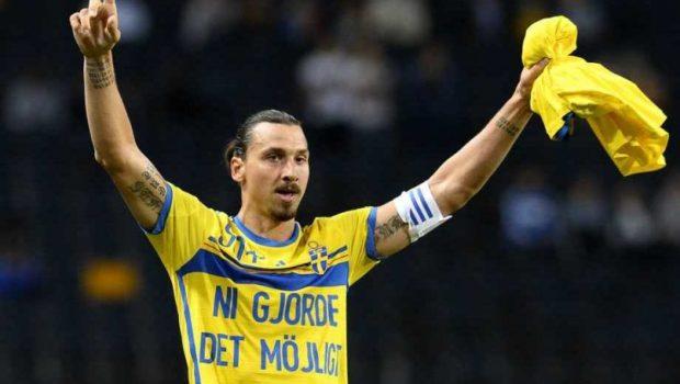 Se Zlatan Ibrahimovics snyggaste mål i landslagströjan