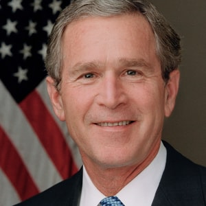 Profile Picture of George W Bush in 9-11 Address to the Nation