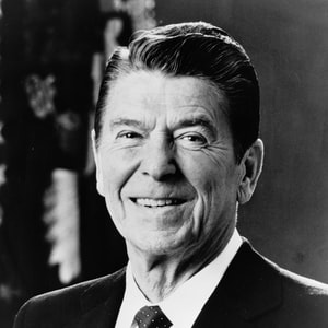 Profile Picture of Ronald Reagan in Address to Students at Moscow State University