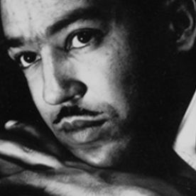 Profile Picture of Langston Hughes in Brass Spitton