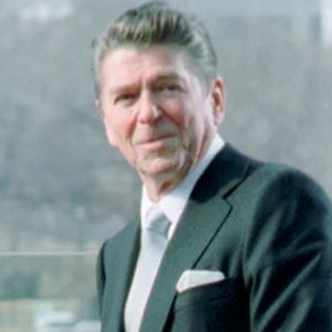 Profile Picture of President Ronald Reagan in First Inaugural Address of Ronald Reagan
