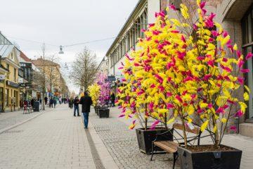 Sweden during easter