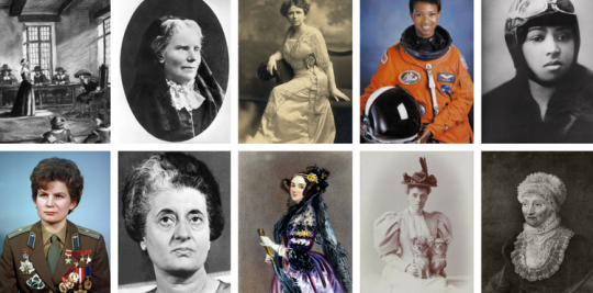 Women who were first in their field