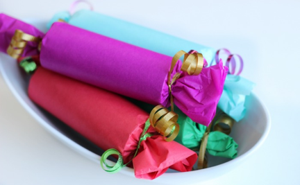 DIY Christmas Crackers, the finished product