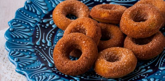 Pumpkin Pie Donuts