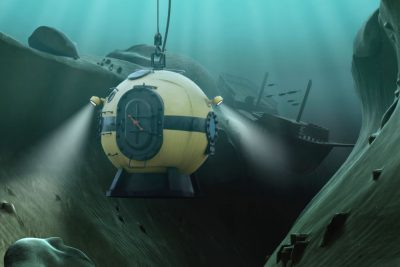Diving Bell in Oceanic Abyss