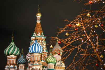 Holiday season in Russia