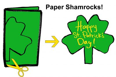 Paper Shamrock Craft