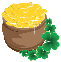 St. Patrick Pot of Gold