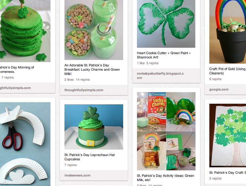 Holiday Pinterest Page