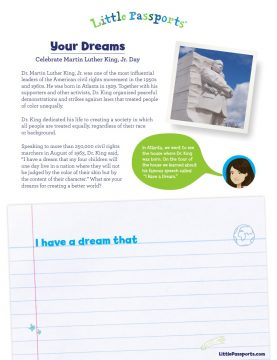 Celebrate Martin Luther King Jr. Day with Little Passports