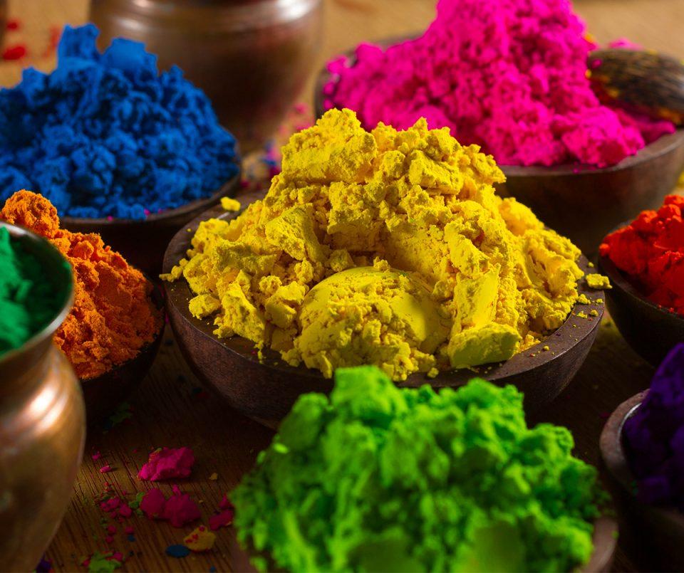 Holi color powder recipe