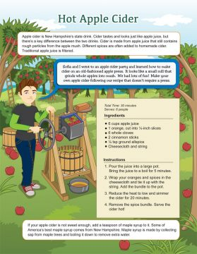New Hampshire Apple Cider Recipe