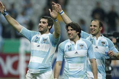 Argentina rugby players