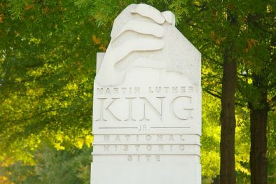 Martin Luther King JR monument