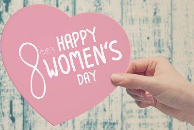 Womens day heart