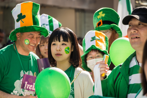 Little Passports Blog St. Patrick's Around the world Japan Parade
