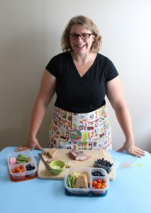 Wendy Copley Photo with France Bento Box