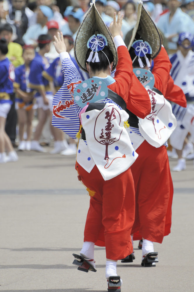 Little Passports Blog Obon Festival in Japan Awa DAnce