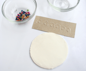 Little Passports Blog Make Your Own Diya Stamping Design for Air Clay