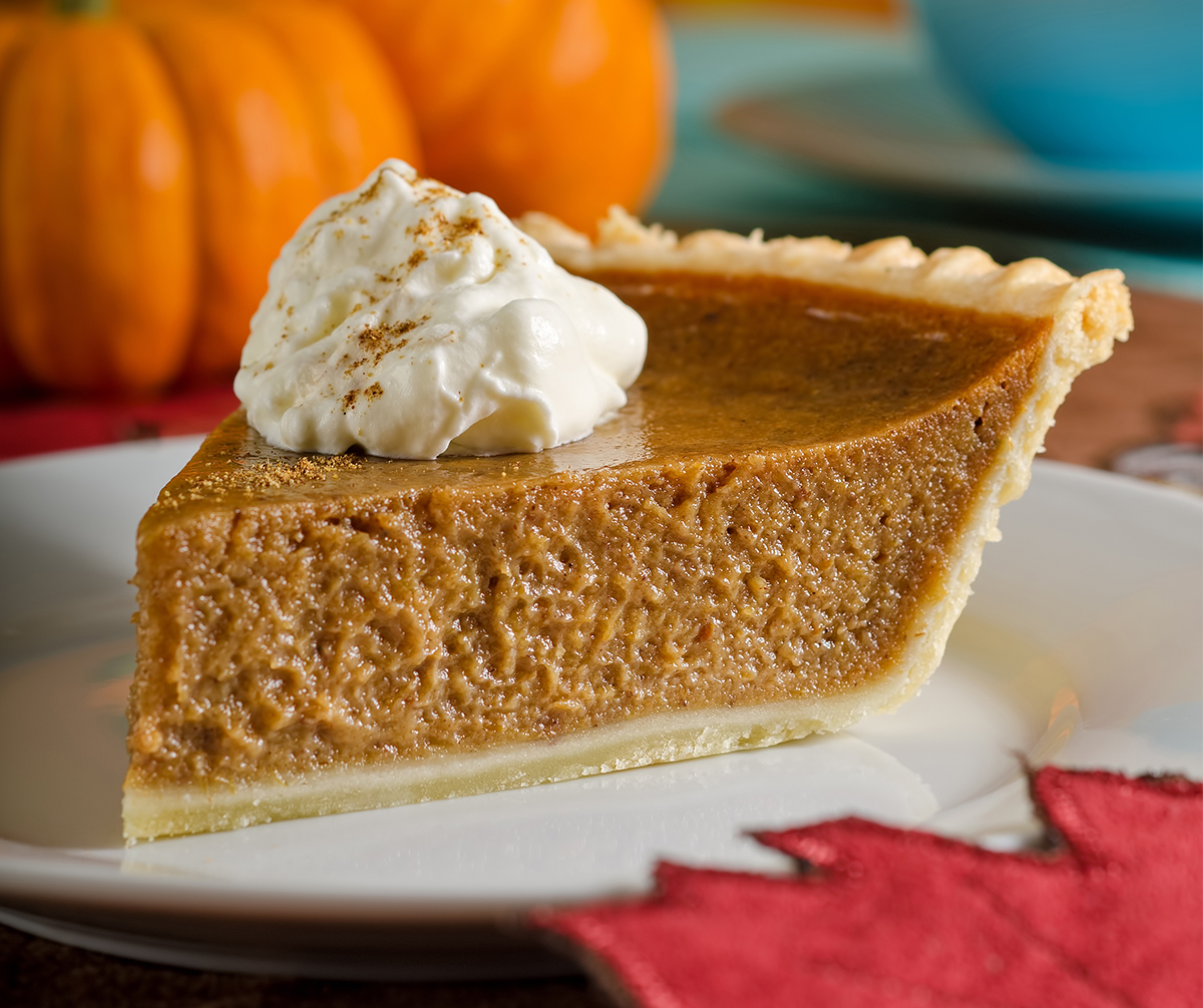 The Most Decadent Pumpkin Pie Recipe!