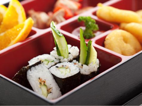 Japanese Bento Box Lunch