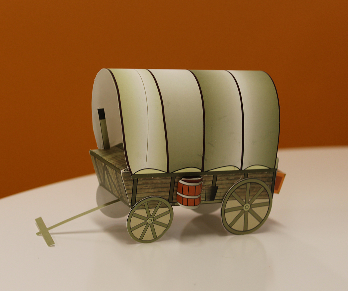 Image Gallery oregon trail wagon model