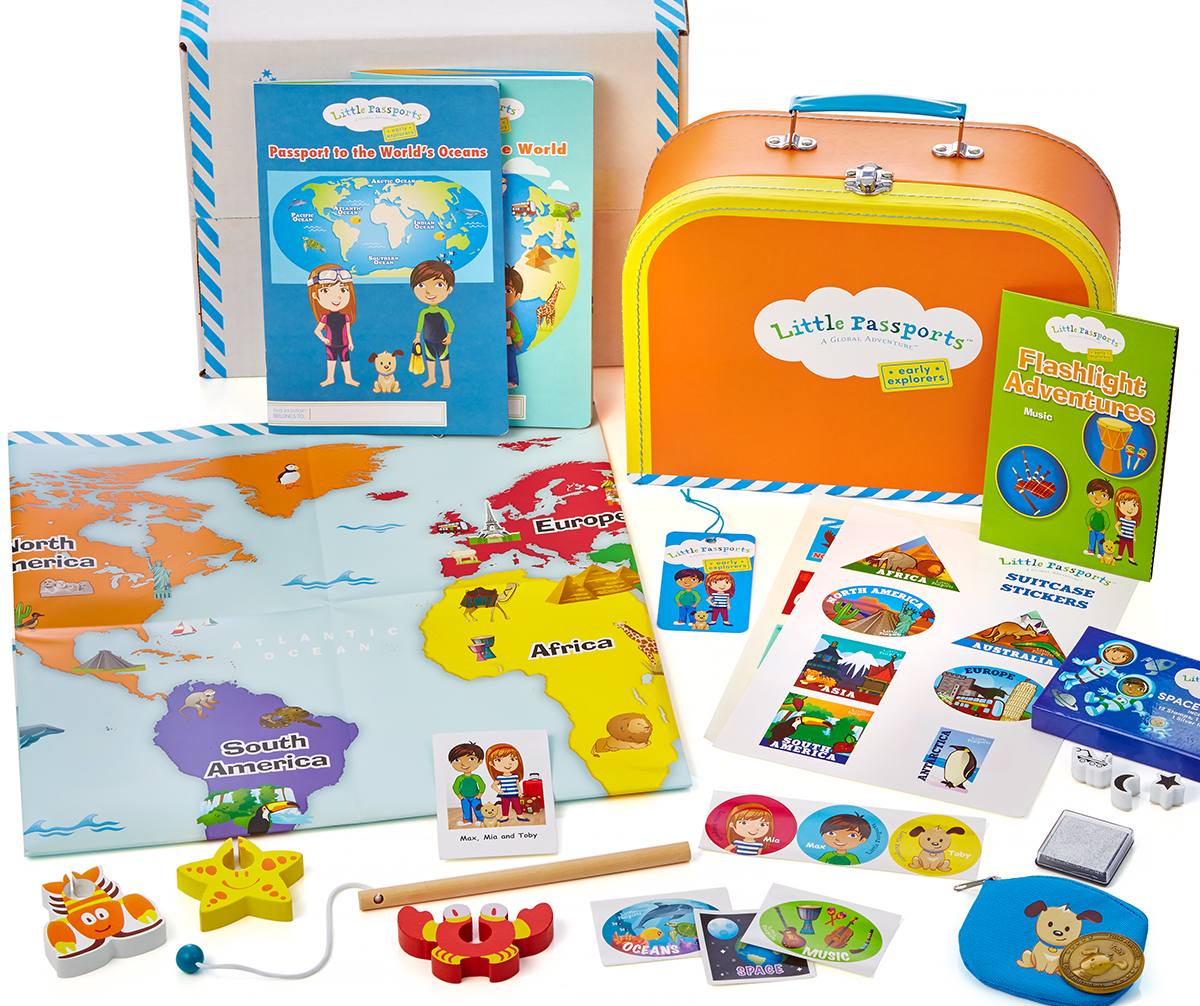 Early Explorers educational gifts for kids
