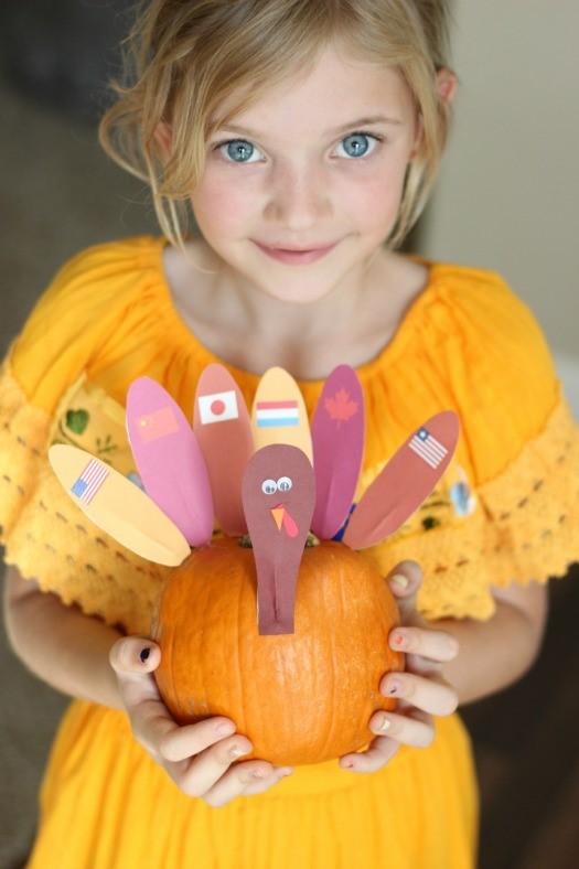 Thanksgiving Around the World  Craft