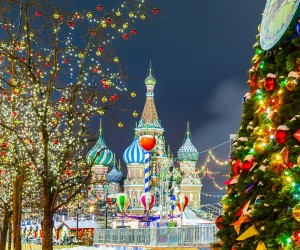 Little Passports Blog New Year's Eve Around the World Russia Christmas Decor