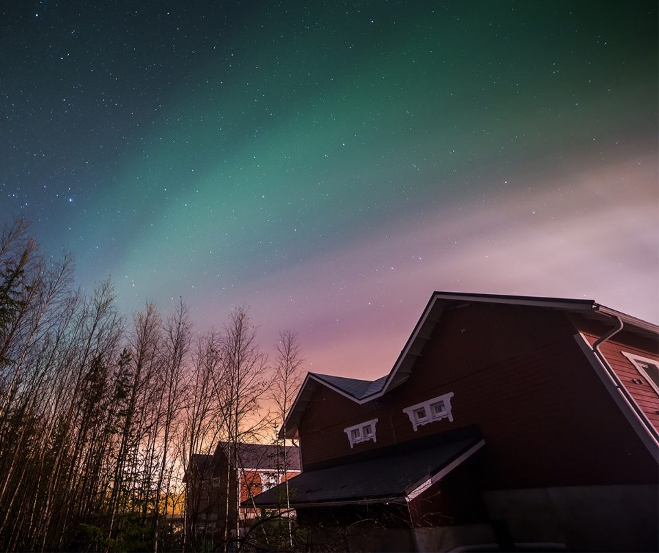 Northern Lights activity for kids