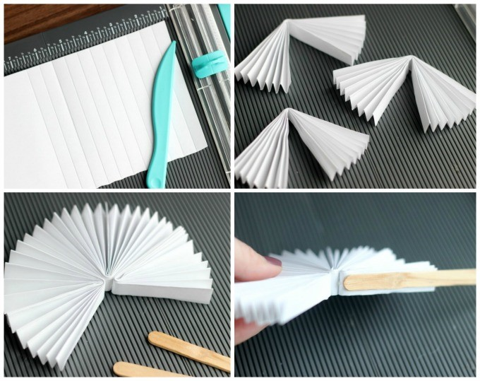 DIY Chinese New Year Fans