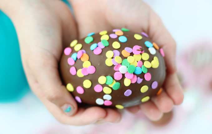 Chocolate egg truffle