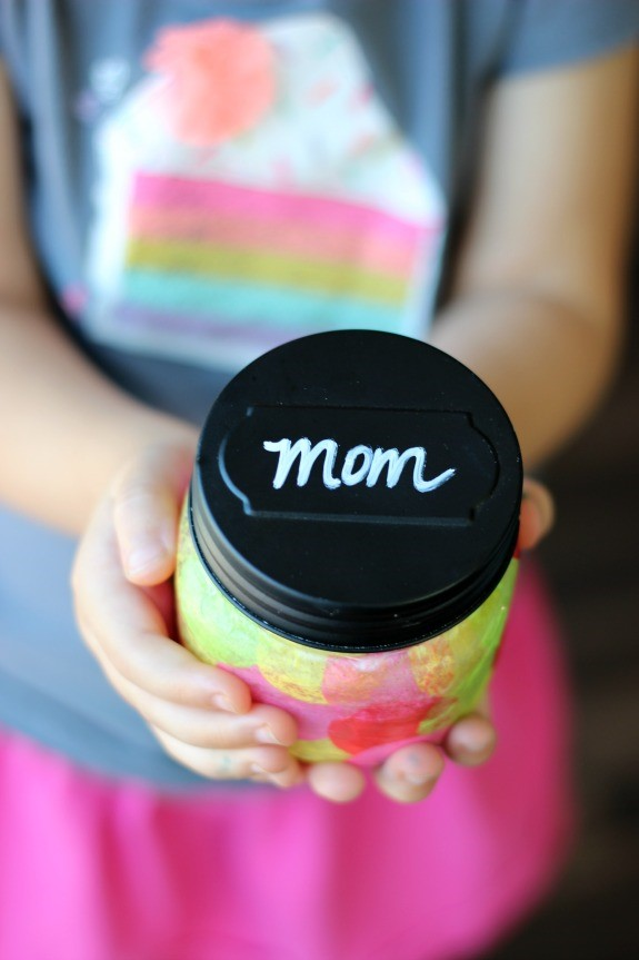 Mother S Day Mason Jar Craft