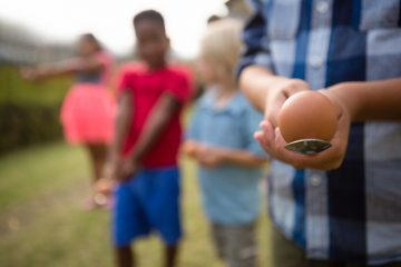 Play an egg and spoon race during your Little Passports summer games