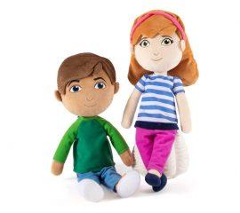 Max & Mia Plush Set Image