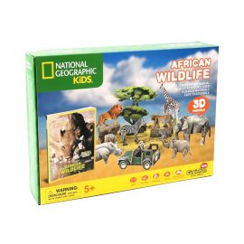National Geographic African Wildlife 3D Puzzle Image