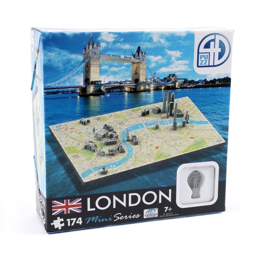 London 4D Mini Puzzle Image