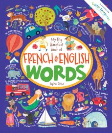 My Big Barefoot Book of French & English Words Image